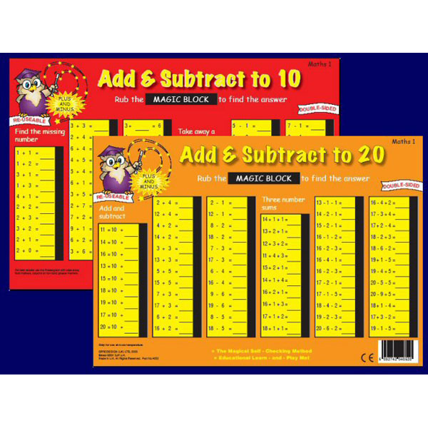 MM: Addition and Subtraction to 20