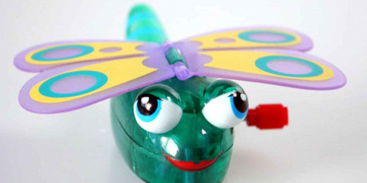 WindUps: Daisy Butterfly