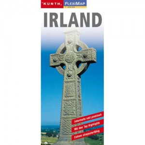 Map of Ireland / Irland Karte 1