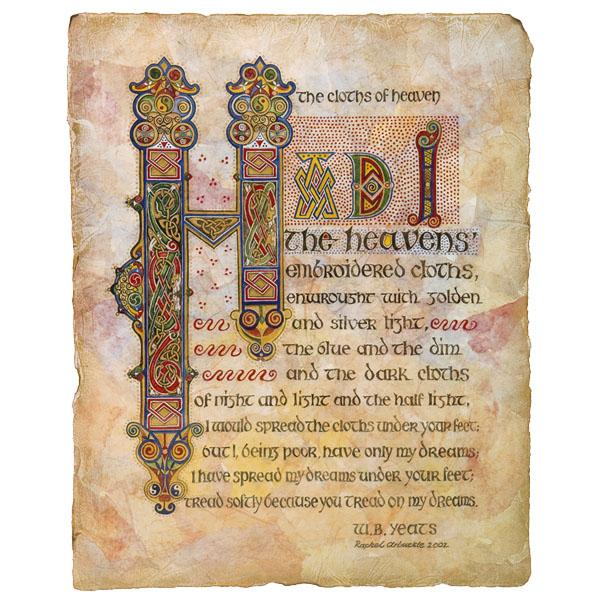 RA: 029 Celtic Range – Yeats Poem