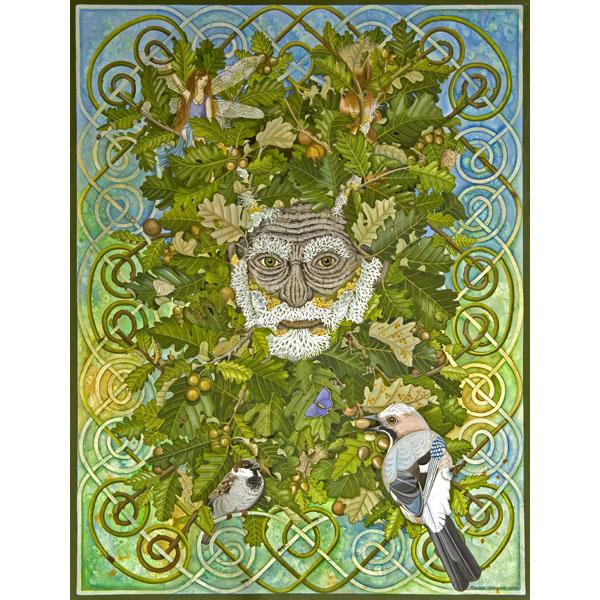 RA: 076 Celtic Range – Green Man