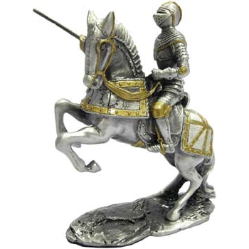 Mounted Knight with Lance